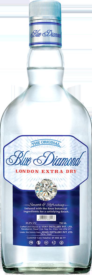 Blue Diamond Gin