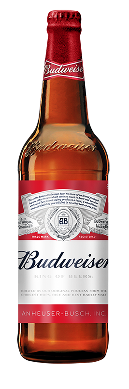 Budweiser – The King of Beers
